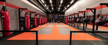 Muay Thai Niagara's new location, same great vibes